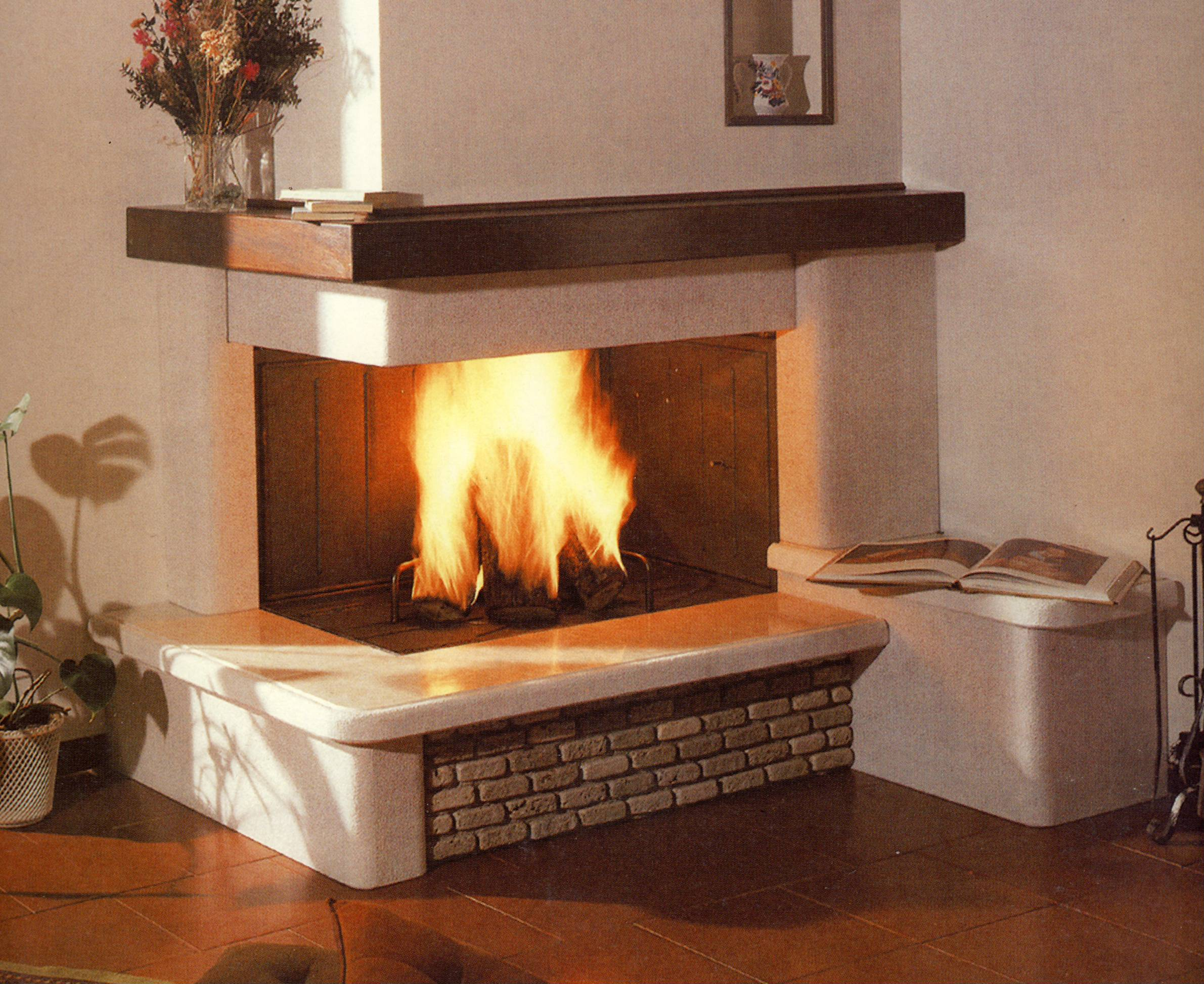 Stunning Camini Da Cucina Contemporary - Idee Per Una Casa Moderna ...