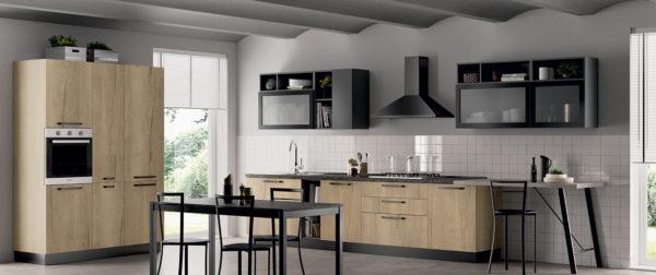 modello Domino 2 - casa piazza arredamenti - cucine su misura marca prima cucine