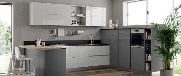 modello Domino 6 - casa piazza arredamenti - cucine su misura marca prima cucine