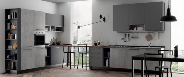 modello Domino 7 - casa piazza arredamenti - cucine su misura marca prima cucine