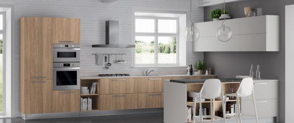 modello Domino 4 - casa piazza arredamenti - cucine su misura marca prima cucine