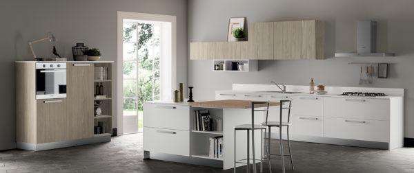 modello Domino 5 - casa piazza arredamenti - cucine su misura marca prima cucine