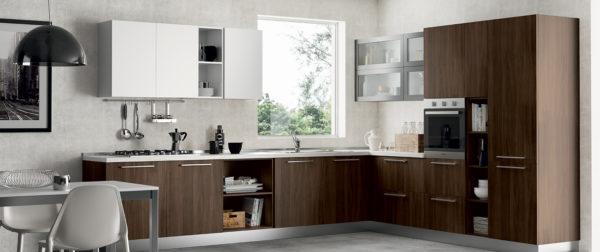 modello Domino 9 - casa piazza arredamenti - cucine su misura marca prima cucine